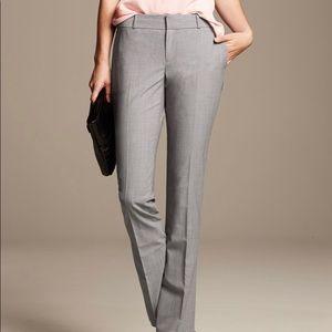 Banana republic gray pants. Work Suit size 6
